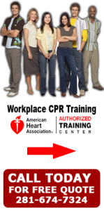Onsite CPR Training Houston TX | Workplace CPR Houston ...